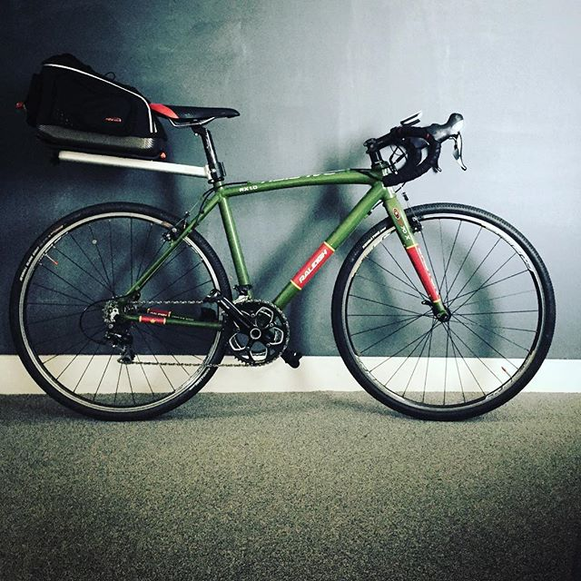 Dusted this guy off for #clevelandcobbles this weekend. - from Instagram