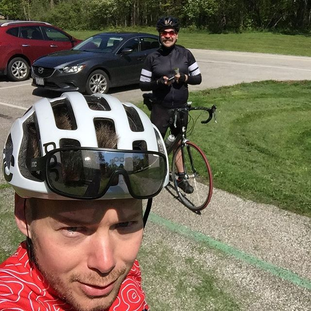 30 miles into a 60 mile day, still kickin. - from Instagram