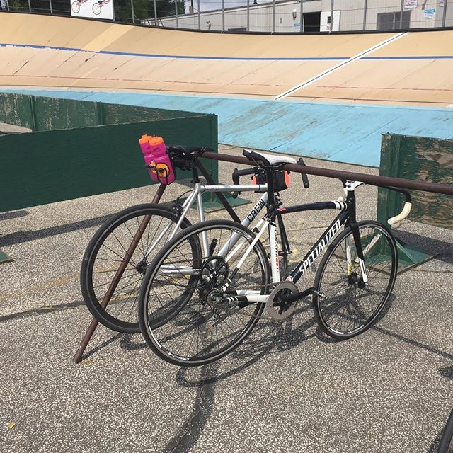 My valiant Track 101 steed @clevelandvelodrome - from Instagram