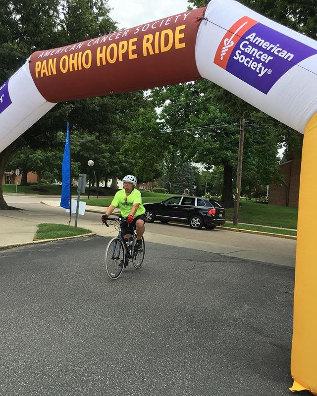 @erichitscar rocking the day 2 #pohr2017 finish line! @panohiohoperide - from Instagram