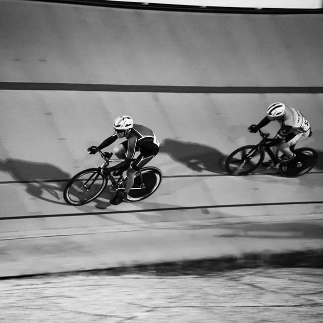 Another shot from last night's races @clevelandvelodrome for @neocyclecle - from Instagram