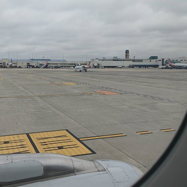 Landed in Charlotte. 67 and cloudy. - from Instagram