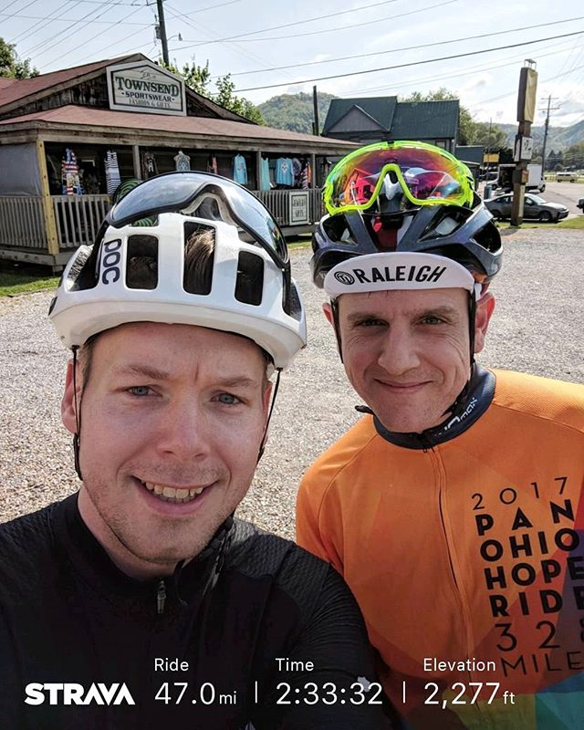 A wee bit of elevation training down here in Gatlinburg preparing for the @panohiohoperide #pohr - from Instagram